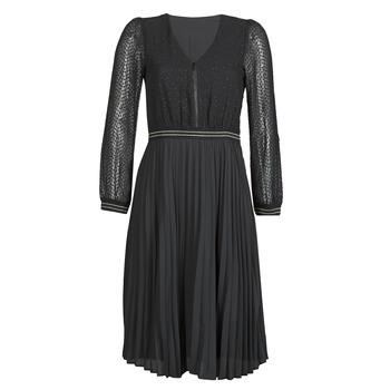 Kleidung Damen Kurze Kleider One Step FR30061 Schwarz