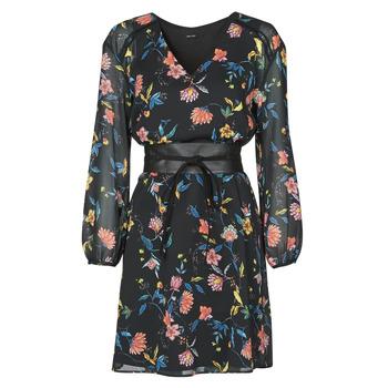 Kleidung Damen Kurze Kleider One Step FR30301 Schwarz