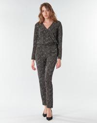 Kleidung Damen Overalls / Latzhosen One Step FR32021_02 Schwarz