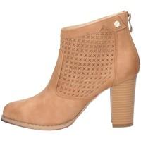 Schuhe Damen Ankle Boots Queen Helena QH19001 Kamel