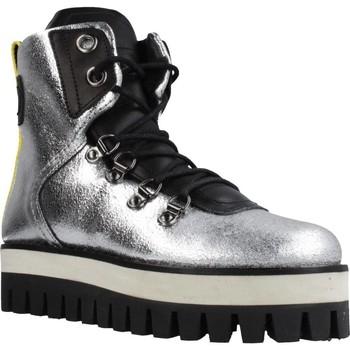 Schuhe Damen Low Boots Buffalo GESINA Silber
