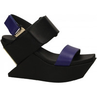 Schuhe Damen Pantoletten / Clogs United nude DELTA midnight-blue