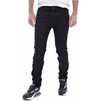 Kleidung Herren Slim Fit Jeans Dsquared S71LB0525 Schwarz