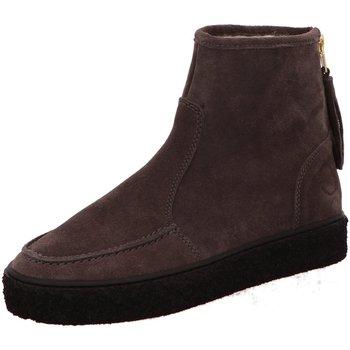 Schuhe Damen Schneestiefel Ca Shott Stiefeletten Dark Grey Suede Boots 18112-64 grau