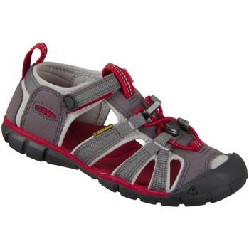 Schuhe Mädchen Sportliche Sandalen Keen Trekkingsandalen Seacamp II CNX 1022970 grau