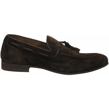 Schuhe Herren Slipper Brecos CASHMIRE testa-di-moro