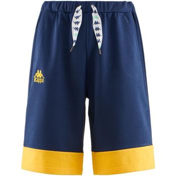 Kleidung Herren Shorts / Bermudas Kappa AUTHENTIC SAND COLLIDE 906-blue-md-yellow