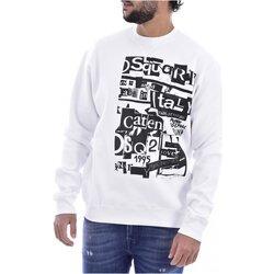 Kleidung Herren Sweatshirts Dsquared S74GU0305 Weiss