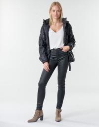Kleidung Damen 5-Pocket-Hosen Emporio Armani 6H2J20 Schwarz