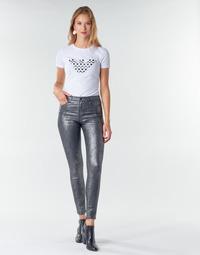 Kleidung Damen 5-Pocket-Hosen Emporio Armani 6H2J20 Grau / Silbern