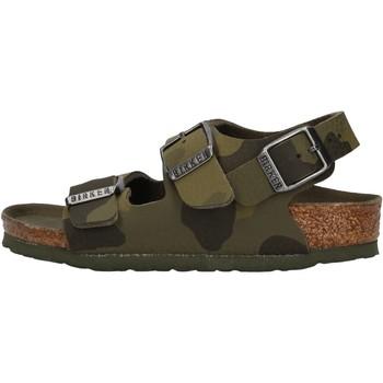 Schuhe Jungen Sandalen / Sandaletten Birkenstock - Milano verde militare 1014590 VERDE