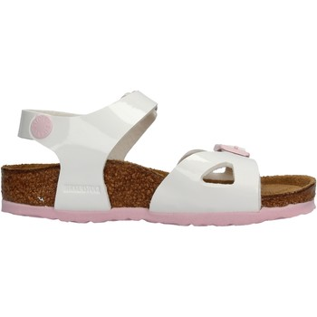 Schuhe Mädchen Sandalen / Sandaletten Birkenstock - Rio bianco vr 1017924 BIANCO