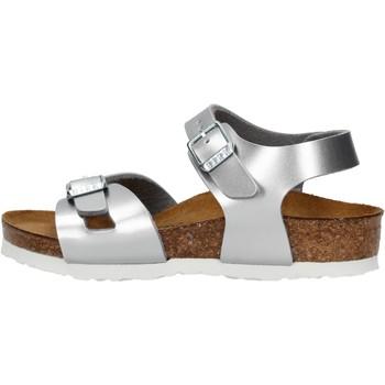 Schuhe Mädchen Sandalen / Sandaletten Birkenstock - Rio argento 1012518 ARGENTO