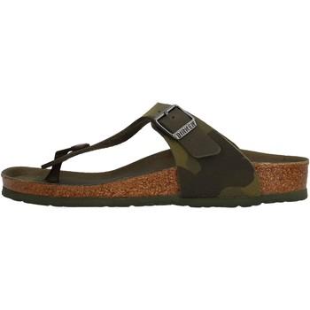 Schuhe Jungen Zehensandalen Birkenstock - Gizeh verde 1015597 VERDE