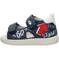 Schuhe Jungen Sandalen / Sandaletten Falcotto - Sandalo blu NORTE-1C49 BLU