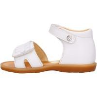 Schuhe Jungen Sandalen / Sandaletten Naturino - Sandalo bianco BRIENNE-0N01 BIANCO