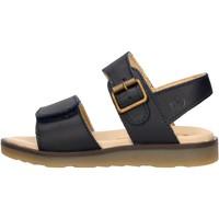 Schuhe Jungen Sandalen / Sandaletten Naturino - Sandalo blu ROUND-0C01 BLU