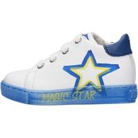 Schuhe Jungen Sneaker Low Falcotto - Polacchino bianco NEDO-1N06 BIANCO
