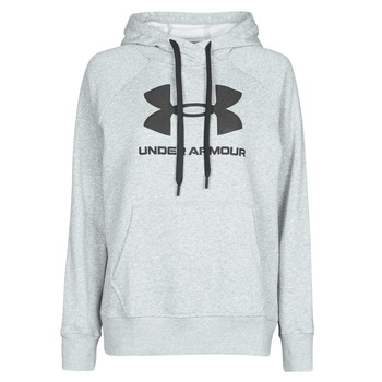 Kleidung Damen Sweatshirts Under Armour RIVAL FLEECE LOGO Grau