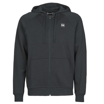 Kleidung Herren Sweatshirts Under Armour UA RIVAL FLEECE FZ Schwarz