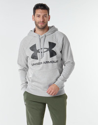 Kleidung Herren Sweatshirts Under Armour UA RIVAL FLEECE BIG LOGO HD Grau