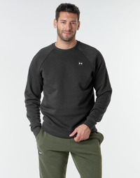 Kleidung Herren Sweatshirts Under Armour UA RIVAL FLEECE CREW Schwarz