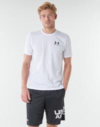 Kleidung Herren T-Shirts Under Armour SPORTSTYLE LEFT CHEST SS Weiss