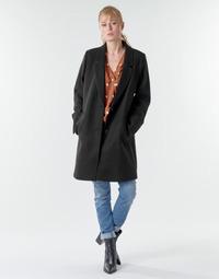 Kleidung Damen Mäntel Esprit LL* BASICBLZRCT Schwarz