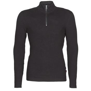 Kleidung Herren Pullover Esprit COWS STR HZ Schwarz