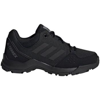 Schuhe Kinder Wanderschuhe adidas Originals Terrex Hyperhiker Low K Schwarz