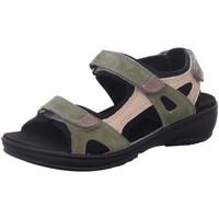 Schuhe Damen Sportliche Sandalen Fidelio Sandaletten g 445007-55 grün