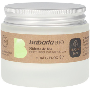 Beauty Damen pflegende Körperlotion Babaria Bio Crema Día Súper Hidratante Antioxidante  50 ml