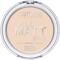 Beauty Damen Blush & Puder Catrice All Matt Plus Shine Control Powder 010-transparent 10 Gr 10 g
