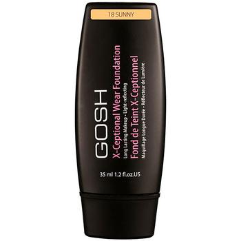 Beauty Damen Make-up & Foundation  Gosh X-ceptional Wear Foundation Long Lasting Makeup 18-sunny 35 ml