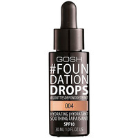 Beauty Damen Make-up & Foundation  Gosh foundation Drops Hydrating Spf10 004-natural  30 ml