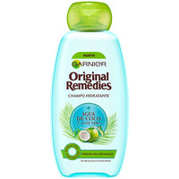 Beauty Damen Shampoo Garnier Original Remedies Champú Agua Coco Y Aloe  300 ml