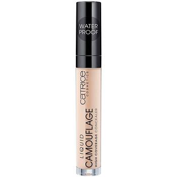 Beauty Damen Concealer & Abdeckstift  Catrice Liquid Camouflage High Coverage Concealer 020-light Beige 5 ml