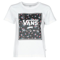 Kleidung Damen T-Shirts Vans BOXED IN BOXY Weiss