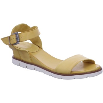 Schuhe Damen Sandalen / Sandaletten Macakitzbühel Sandaletten Sandalette Schnalle Freizeit Gelb 2655-yellow gelb
