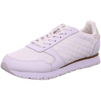 Schuhe Damen Sneaker Low Woden Schnuerschuhe Ydun NSC WNS1000 weiß
