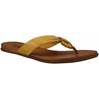 Schuhe Damen Zehensandalen 2 Go Fashion Pantoletten sonnen 8003702-6 gelb
