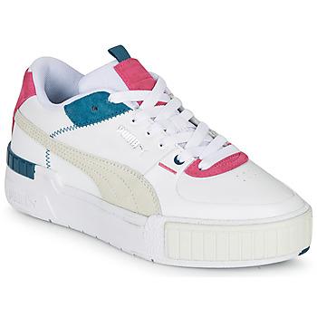 Schuhe Damen Sneaker Low Puma CALI SPORT Weiss / Grau