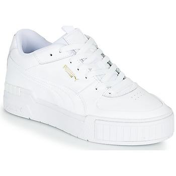 Schuhe Damen Sneaker Low Puma CALI SPORT Weiss