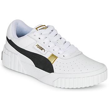 Schuhe Damen Sneaker Low Puma CALI VARSITY Weiss / Schwarz