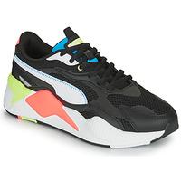 Schuhe Sneaker Low Puma RS-X3 Schwarz / Weiss / Korallenrot