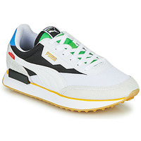 Schuhe Sneaker Low Puma FUTURE RIDER Unity Collection Weiss / Schwarz