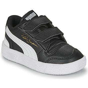 Schuhe Kinder Sneaker Low Puma RALPH SAMPSON LO INF Schwarz / Weiss