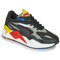 Schuhe Sneaker Low Puma RS-X3 Schwarz / Rot / Gelb