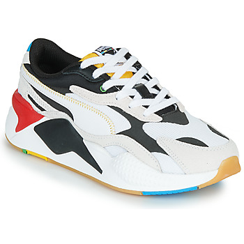 Schuhe Sneaker Low Puma RS-X3 Unity Collection Weiss / Schwarz / Rot