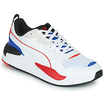 Schuhe Herren Sneaker Low Puma X-RAY Weiss / Blau / Rot